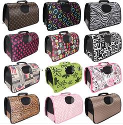 OEM.brand new design.instock .overstock High folding pet dog cat bag carrying bag pouch pet supplies