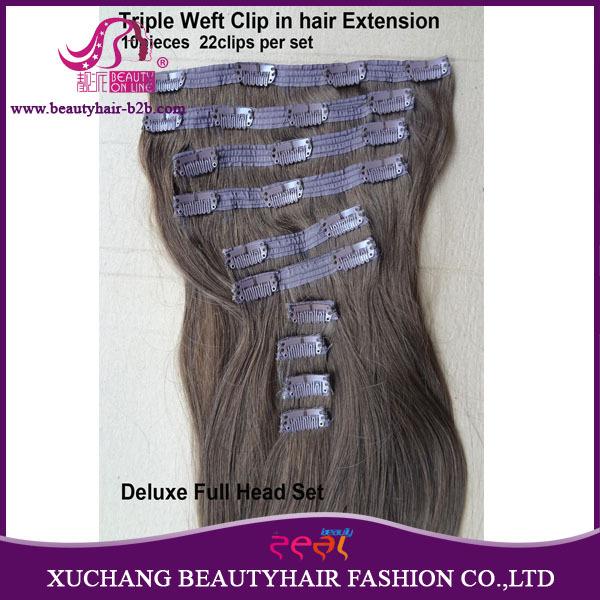 Bohemian Remy Human Hair Triple Weft Double Drawn Luxury Full Head