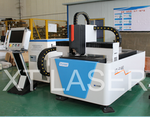 With Germany IPG laser&Casting lathe&working table 1500*3000mm 500w 1000w fiber laser cutting machine