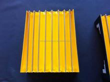 Multipurpose accordion type folding machine bellows