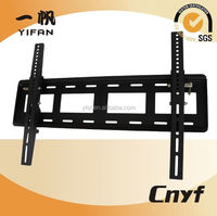 Fixed 15 degree tilted slim panel LCD tv Bracket,tv wall mount for 55-70 screen