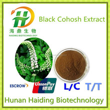 GMP Factory Black Cohosh Extract 2.5% Triterpene Glycosides HPLC/Decreasing The Cholesterol