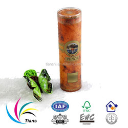 PVC PET transparent tube for perfume