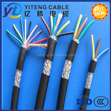 450/750V IEC standard PVC insulated and sheathed copper wire Shielded Multicore Flexible Control Cable
