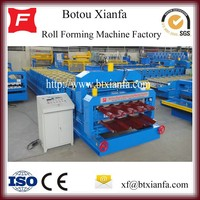 Double Layer Roof Roll Forming Machine In China On Sales