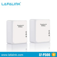 HIGH SPEED 500Mbps Homeplug AC powerline network adapter