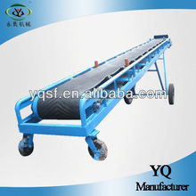 2013 Xinxiang YongQing mobile inclined used inclined conveyor belts,rubber belt,carbon steel material