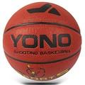 Laminação yono personalizado tamanho completo yn-505 barato por atacado vendas tamanho 7/6/5/3/2 pu bolas de basquete
