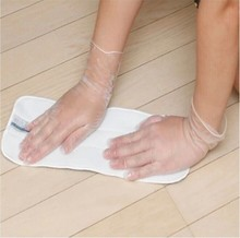 Health products transparent vinyl disposable food gloves