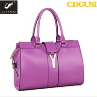 Desinger modern high quality women leather tote office bags