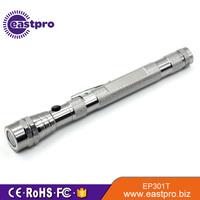 EASTPRO EP301T Magnetic 3 LED Flash light Telescopic Flexible Neck Pick Up Tool Telescopic Flashlight