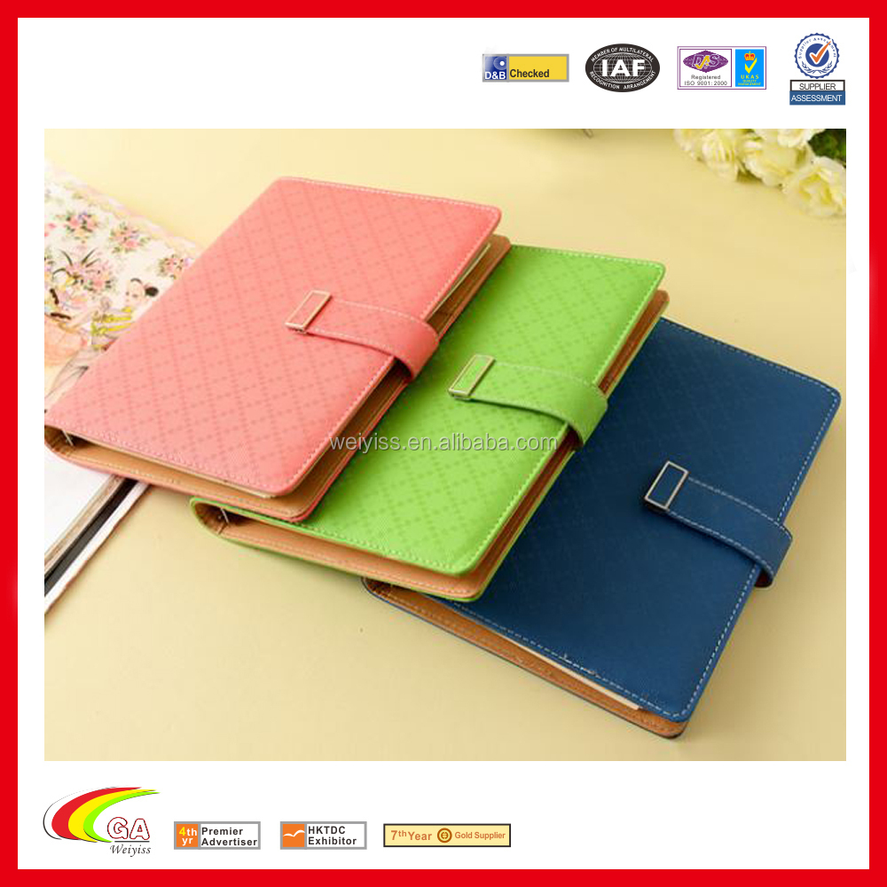 A5 leather notebook paper spiral notepad notebook binder fashion a5 leather notebook paper spiral notepad notebook binder fashion organizer with business card holder colourmoves