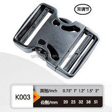 quick release plastic buckle 3-way plastic buckle plastic buckle clip