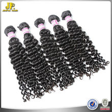 Jinpai Hair 2015 Raw Remy Human Cheap Deep Wave Remy Hair Weft