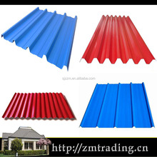 hot selling corrugated galvanized steel roof metal sheet