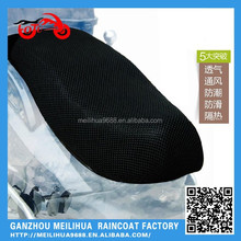 2015 Summer Sunscreen black 3D Air Mesh Seat Cover for motorcycle