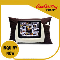 Hot New Products for 2015 CarSetCity Brown iPad and Tablet Pillow Car Holder