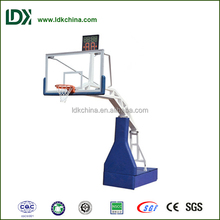 Can be customized portable adjustable basketball stand