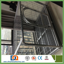 hot sale strong large stainless steel dog cage l;