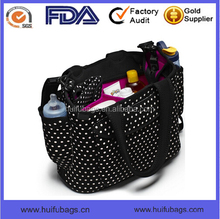 New arrival full printed tote diaper bag for adults High quality tote diaper bag in China