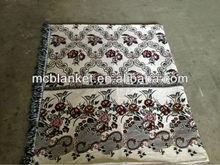 New design jacquard thread blanket