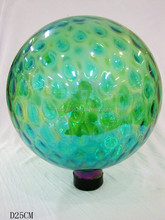 25cm solid color glass ball