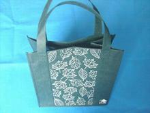 Custom Cute Recycled Tote Non Woven Shopping Bags