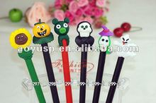 Halloween polymer clay craft promotional pen,hand making pens,craft pens