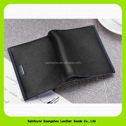 15493 Ultra thin men's leather wallet Made in China new 2015