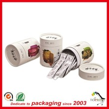 Alibaba wholesale paper cans to tea customized round tea bag box packaging with great price
