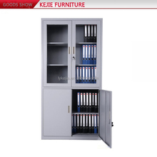 High Quality Commercial Furniture Office Steel Tall Filing Cabinet Steel Cheap File Cabinets Iron Display Cabinet