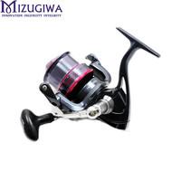 Fishing Spinning Reel XD5000 7BB Long Casting Reel For Salt Water Standard Fishing High Speed 5.1:1 Aluminum Spool