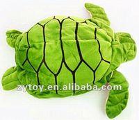Plush Green Sea Turtle Toys OEM