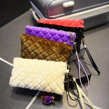 Trendy bags style 2015 Mini Fur Clutch Bags