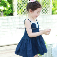 Guangdong brand model of direct selling in the summer of girls' skirts White lace white gauze skirt with shoulder-straps