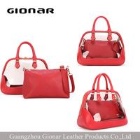 Fashion lady handbag silicone bag purse and handbag