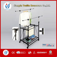 foldable extendable clothes drying rack