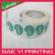 Full color product promotion company logo sticker vinyl