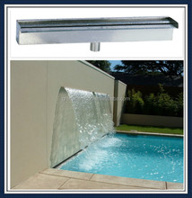 modern style stainless steel water blade for swimming pool SEG2020