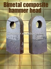 minerals & metallurgy cast and forged ferro alloys crusher hammer