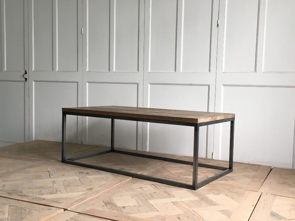 Industrial Superior de madera artículos para el hogar mesa de café ...