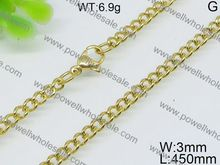 Good value for the money gold thick chain necklace