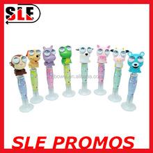 2016 Kawaii Animal Shaped Dog/Frog/Sheep/Cow /Monkey/Hippo Ball Pen For Kids