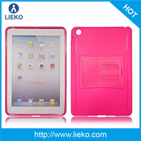 for iPad mini/mini2 TPU case with Stand