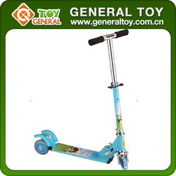 Child 3 Wheel Scooter Car With Roof
