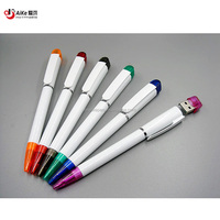 Promotional USB flash ball pen drive 8/16/24/32G