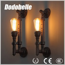 Retro modern style water pipe shape fashion Iron industrial wall lamp/light
