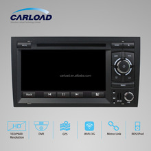 CE certification and 7'' HD Touch Screen car gps navigation for AUDI A4 Car