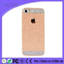 New Cheap Hot Selling Glitter Rhinestone Mobile Phone Case for Apple iphone 6