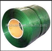 Green PET Strapping Tape Packaging Rope For Machine Packing